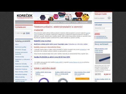 www.elektrokorecek.cz