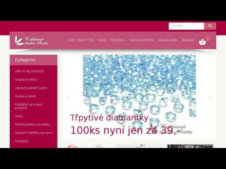 www.kvetinovestudioaneta.cz