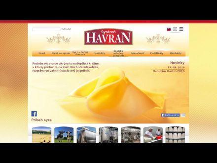 www.zahorackysyrhavran.sk