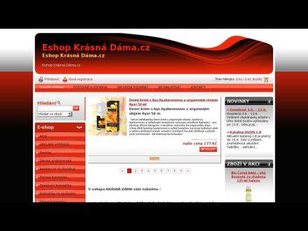 www.krasnadama.cz