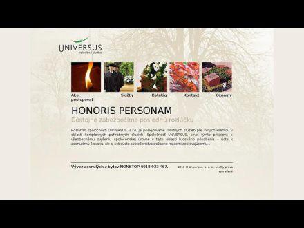 www.universus.sk
