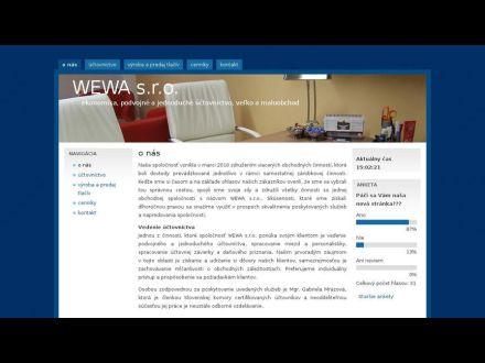 www.wewa.sk
