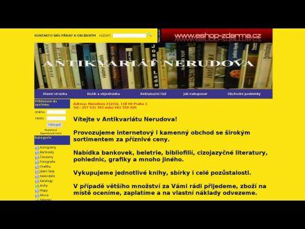 www.antikvariatnerudova.cz