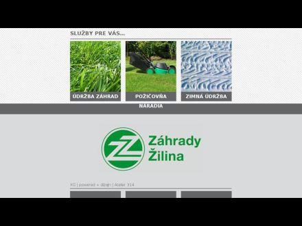 www.zahrady-zilina.sk