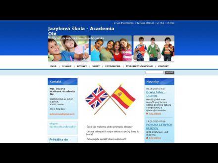 www.academia-ole.sk