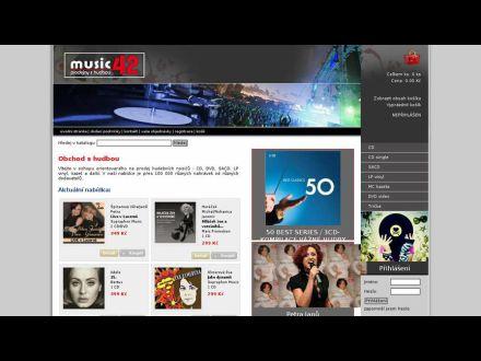 www.music42.cz