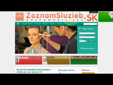 www.zoznamservisov.sk