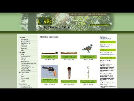 www.lovec-shop.cz