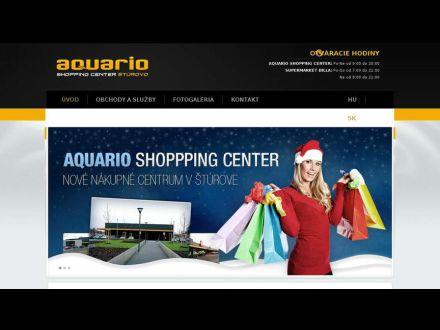 www.aquariosturovo.sk