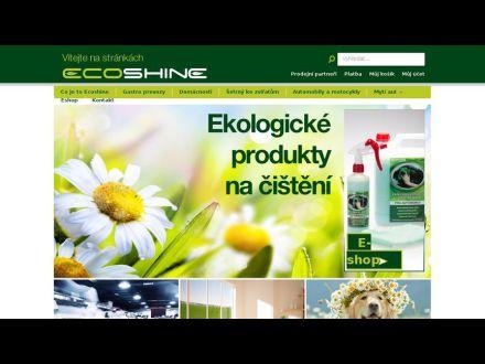 www.ecoshine.cz