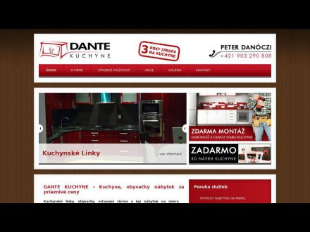 www.dante-kuchyne.sk