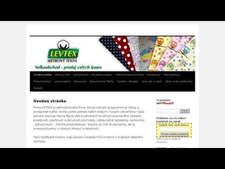 www.levtex.sk