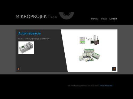 www.mikroprojekt.sk