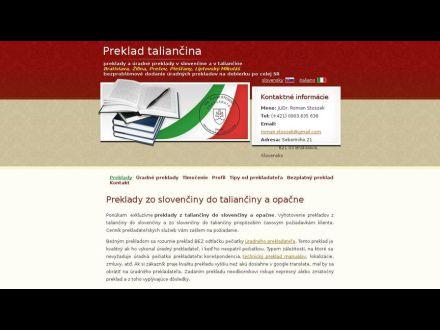 www.preklady-taliancina.sk