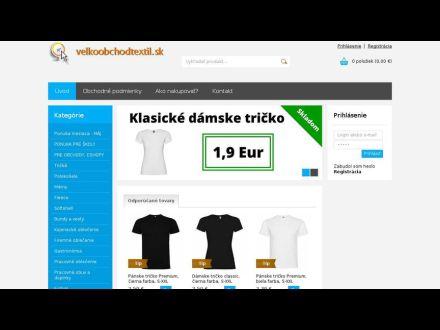 www.velkoobchodtextil.sk