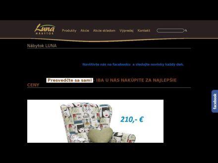 www.nabytokluna.sk