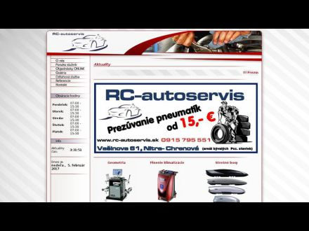 www.rc-autoservis.sk