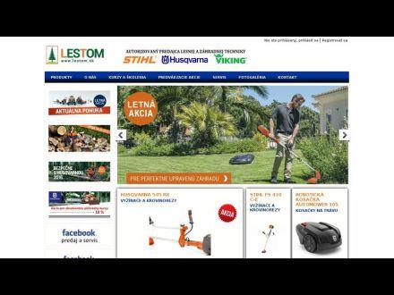 www.lestom.sk