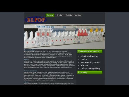 www.elpop.sk
