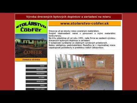 www.stolarstvo-cobfer.sk
