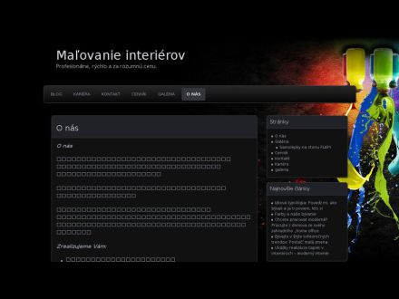 www.malovanie-interierov.sk