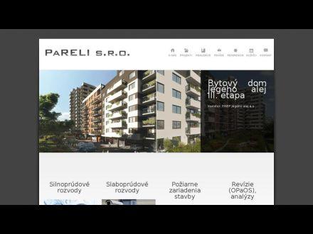www.pareli.sk