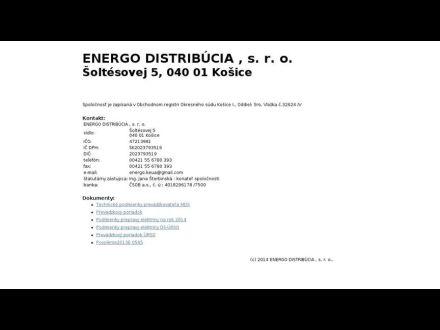 www.energodistribucia.sk