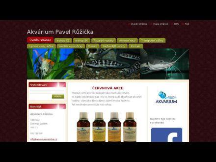 www.akvariumruzicka.cz