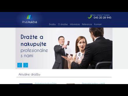 www.prvaaukcna.sk