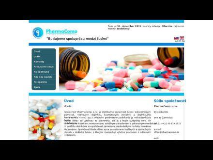 www.pharmacomp.sk