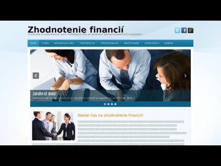 www.zhodnoteniefinancii.sk