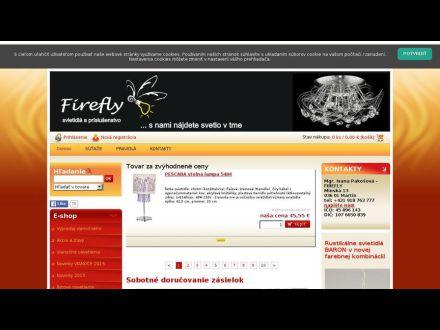 www.fireflyshop.sk