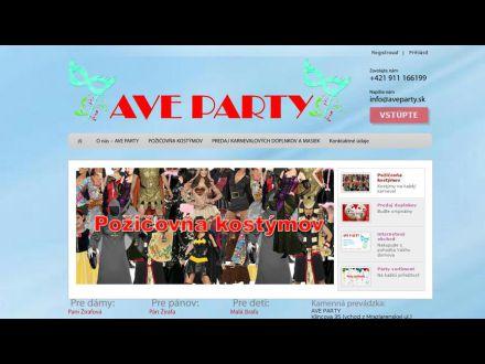 www.aveparty.sk