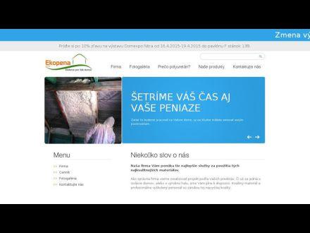www.ekopena.sk