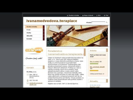 www.ivanamedvedova-terapiacesta-sk1.webnode.sk