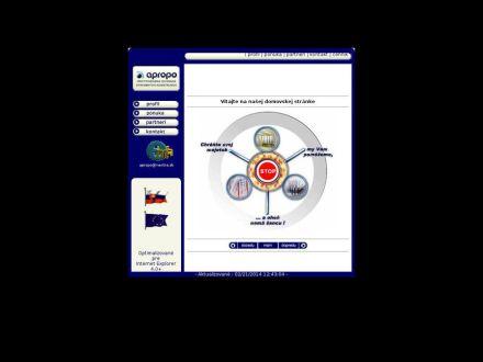www.apropo.sk