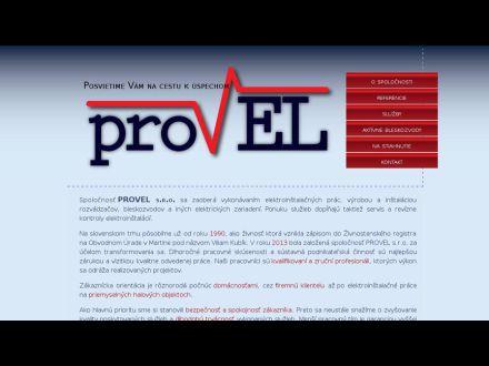 www.provel.sk