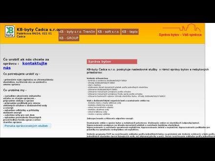 www.kbbyty.sk/kbcadca.html