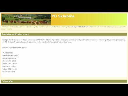 www.pdsklabina.sk/predajna