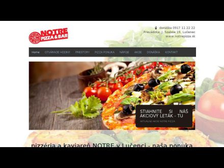 www.notrepizza.sk