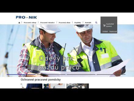 www.pronik.sk