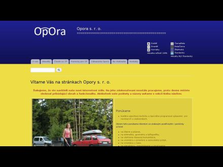www.opora.sk