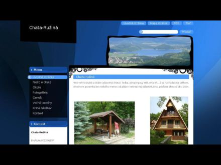 www.chata-ruzina.webnode.sk