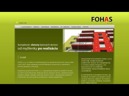 www.fohas.sk