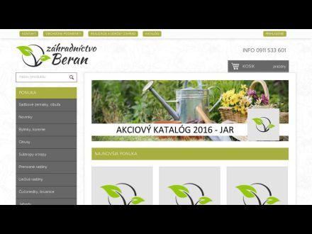 www.zahradnictvoberan.sk