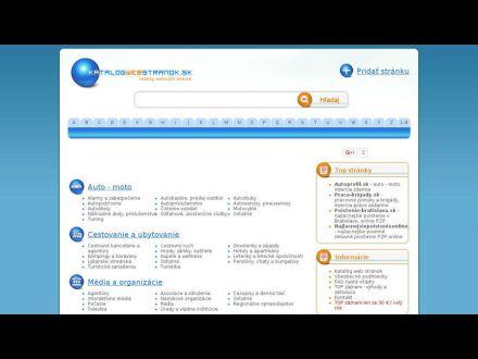 www.katalogwebstranok.sk