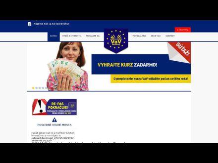 www.vavakademy.sk