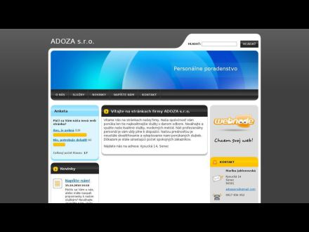 www.adoza.webnode.sk