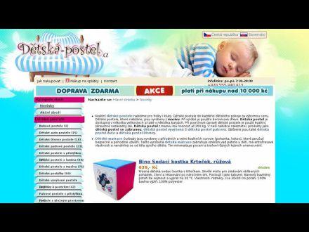 www.detska-postel.cz