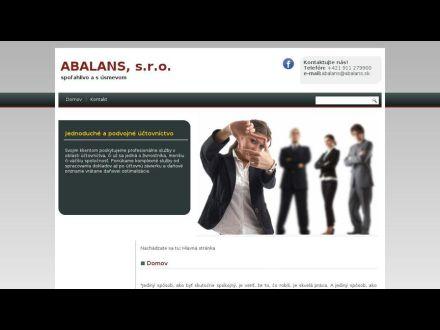 www.abalans.sk